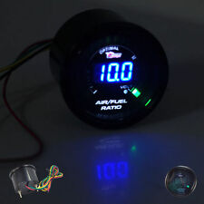 "New ! 2"" 52mm Digital Color Analog LED Air / Fuel Ratio Monitor Racing Gauge Aut"