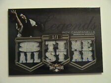 2010 Topps Triple Threads Roy Campanella Brooklyn Dodgers Relic 1/1
