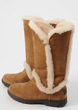 NEW Women's Ugg Katia Waterproof Tall Boots Chestnut size 7 Suede Shearling