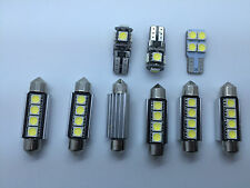 9x SMD LED Interior Lights SEAT LEON Mk2 FR 1P1 1P Cupra ST Bulbs White GR