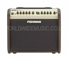Fishman Loudbox Mini 60 watt Twin Channel Acoustic Combo Amplifier - Tan finish