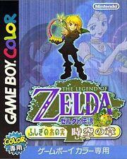 GameBoy Color Zelda no Densetsu: Fushigi no Ki no Mi Jikuu no Shou (JAP) (Modul)