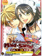 DVD Anime Kaichou Wa Maid Sama Vol. 1-26 End Bonus OVA English Sub Ship FREE*