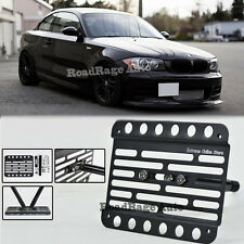 For 11-Up BMW 1-Series E82 E88 1M Front Tow Hook License Plate Relocator Bracket