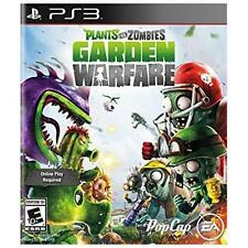 NEW PS3 Plants vs. Zombies: Garden Warfare video game (Sony PlayStation 3, 2014)