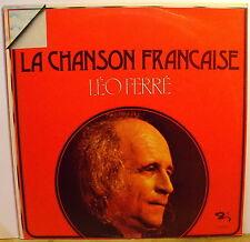 LEO FERRE' - LA CHANSON FRANCAISE - LP MINT