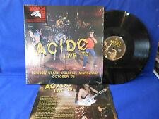 ACDC AC/DC LIVE 2LP EXC+