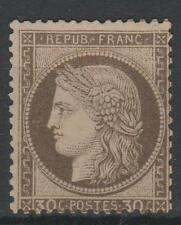 """FRANCE STAMP TIMBRE  N° 56 """" CERES 30c  BRUN 1872 """" NEUF x TB   M676"""
