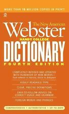 The New American Webster Handy College Dictionary by Philip D. Morehead...