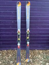 Salomon Gun Twin Tip 185cm Skis With Salomon Adjustable Bindings