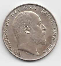 Very Rare Edward VII 1902 Matt Proof Silver Halfcrown 2/6