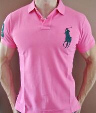 New NWT Mens Ralph Lauren Polo Shirt Big Pony Muscle Fit Custom Fit Large