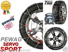 Catene Neve 7mm PEWAG SERVO SPORT RSS79 CHRYSLER 300C SEDAN TOUR Gomme 225/60R18