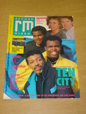 RECORD MIRROR 1989 APRIL 22 TEN CITY BROOKSIDE BEE GEES