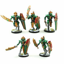Warhammer 40K armée necron lychguard squad painted and based