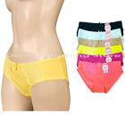 6pcs Women Ladies Lace Side Underwear Briefs Panties Knickers Lingerie Bikinis