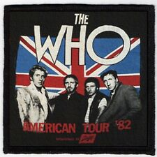 THE WHO PATCH / SPEED-THRASH-BLACK-DEATH METAL