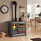 "Wood Burning Cook Stove La Nordica ""Rosa XXL"" Cooking Range & Baking Oven"