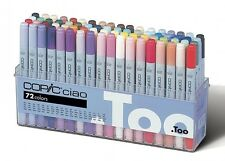 TOO Copic Ciao 72 colors Set A Premium Artist Markers Anime Comic New F/S