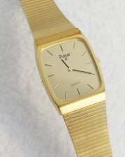 Pulsar Men's Classic Watch Gold Tone Case Retro Self Adjusting Band