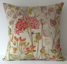 "Voyage Hedgerow Autumn Flowers Seeds 16"" Cushion Cover"