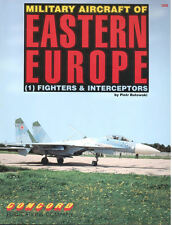 CONCORD MILITARY AIRCRAFT OF EASTERN EUROPE FIGHTERS SOVIET AF WARSAW PACT