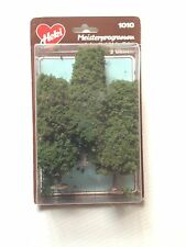"Heki 1010,  3 - Elm Trees, 5"" Tall each, Dark Green  New Mint In Box"
