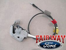 97 thru 04 F-150 Super Cab OEM Ford Rear Door Upper Latch w/ Cable LEFT DRIVER