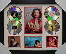 PATSY CLINE 4CDs FRAMED MEMORABILIA LIMITED EDITION