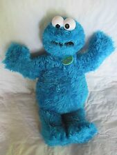 "Build A Bear Sesame Street COOKIE MONSTER 20"" Stuffed Blue Plush Limited Edition"