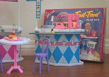 NEW Gloria DOLLHOUSE FURNITURE Fast Food PLAYSET (96008)