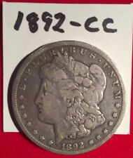1892-CC MORGAN SILVER DOLLAR Carson City Old West Mint Variety Scarce