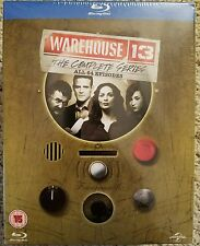 WAREHOUSE 13 THE COMPLETE SERIES on BLU-RAY All 64 Episodes 5 Seasons 1-5 SciFi