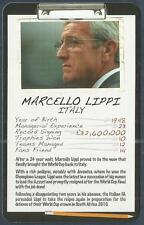 TOP TRUMPS-FOOTBALL MANAGER-2008-ITALY & JUVENTUS-MARCELLO LIPPI