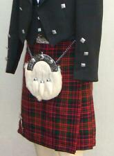 Scottish | Macdonald Tartan Heavy Kilt & Kilt Pin | Geoffrey