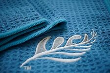 Microfiber Towel Sport Gym Outdoor Travel Camping Swimming Beach (Blue)