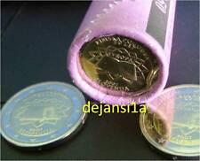 SLOVENIE 2 Euros Commémorative Traité de Rome 2007 - pièce neuve / UNC / RARE!!!