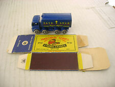 MATCHBOX MOKO LESNEY 10C SUGAR CONTAINER TRUCK KGPW-R/A WITH ORIGINAL BOX