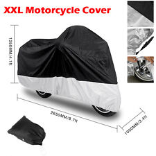 XXL Motorcycle Waterproof Outdoor Motorbike Rain Vented Bike Cover Protector ESD