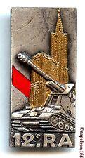 ARTILLERIE. 12 eme Rgt d'Artillerie. Homologué G. 1921. Fab. Drago Paris