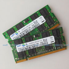 Samsung 4GO 2x2GO PC2-5300 DDR2-667 667Mhz 200pin DDR2 Laptop Memory SO-DIMM RAM