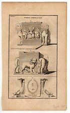 GREECE SCIO HOMERS SCHOOL IN CHIOS COPPER ENGRAVING BY POCOCKE 1743