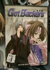 Get Backers Anime DVD Series - Battles With the Past (Vol. 4)