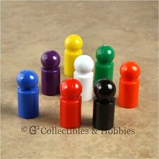 NEW Set of 8 30mm Ball Pawns Board Game Playing Pieces