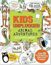 Kids Unplugged Animal Adventures Activity Book