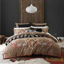 Logan and Mason MAHARAJA SPICE Animal Print Queen Size Bed Doona Quilt Cover Set