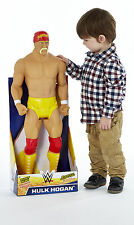 "Wwe wwf catch hulk hogan 31"" géant articulé childrens play figure"