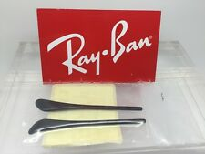 Authentic RayBan RB AVIATOR Replacement Temple (Arm) Tips for Black Ray-Ban