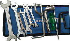 LAMBRETTA HANDY TOOLKIT & BLUE POUCH 13 PC PROP, PLUG SPANNER, SCREW DRIVER NEW
