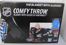NHL Tampa Bay Blanket With Sleeves By Northwest Comfy Throw